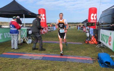 Crossduathlon Ameland 2020 voor Joep Staps en Linda van Vliet
